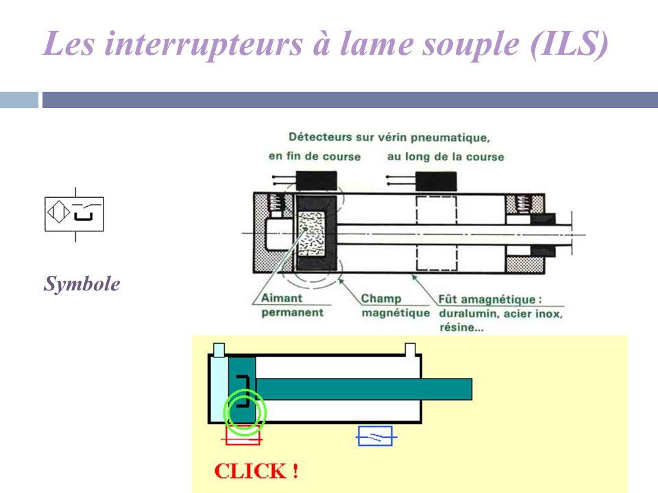 Les interrupteurs à lame souple (ILS)