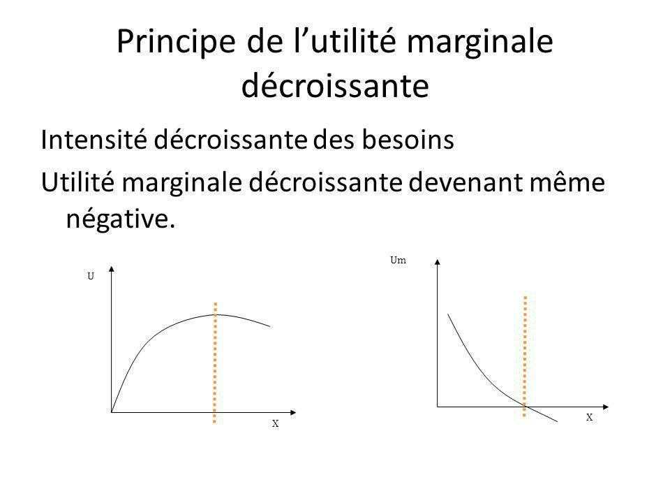Principe de l'utilité marginale décroissante