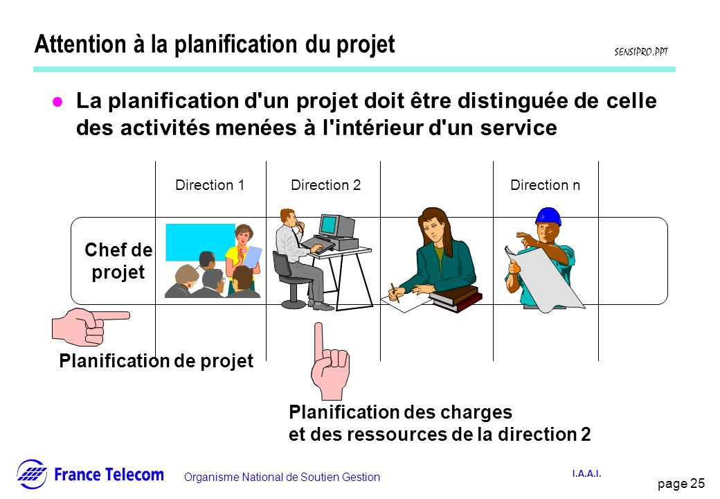 Attention à la planification du projet