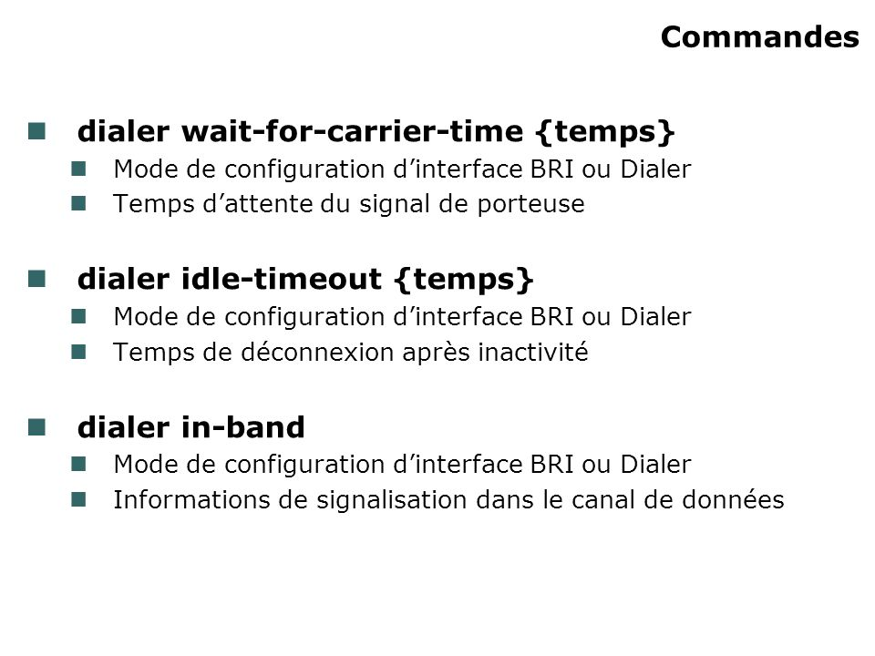 dialer wait-for-carrier-time {temps}