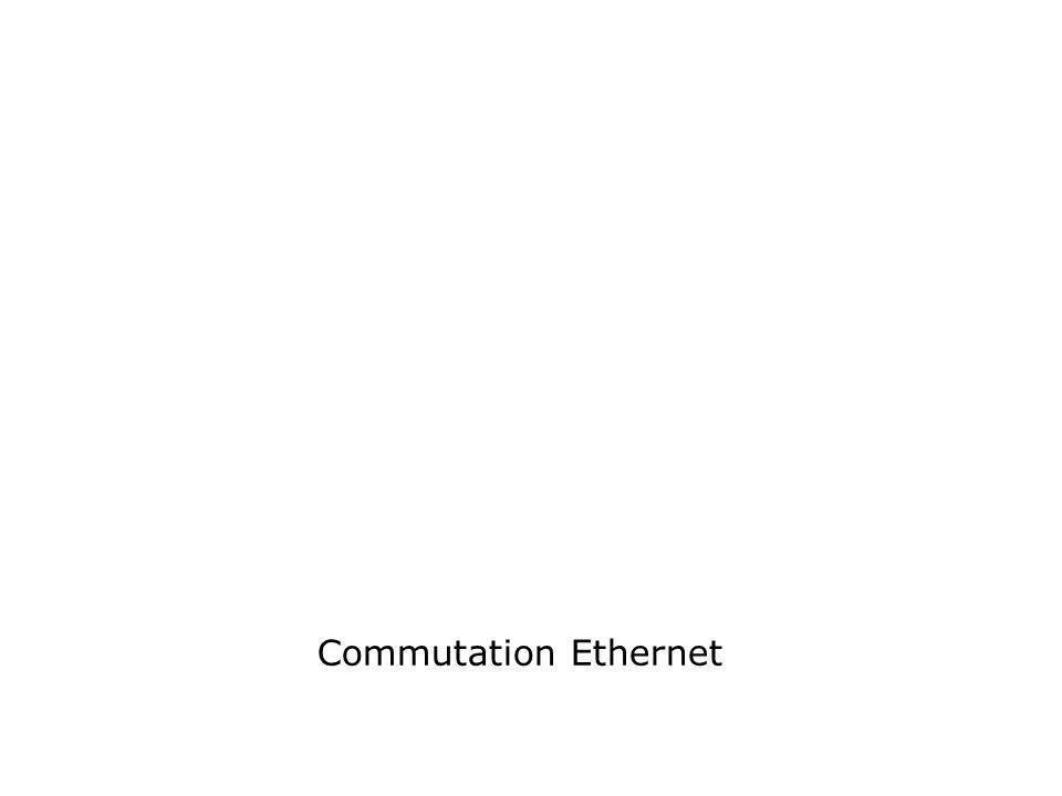 Commutation Ethernet