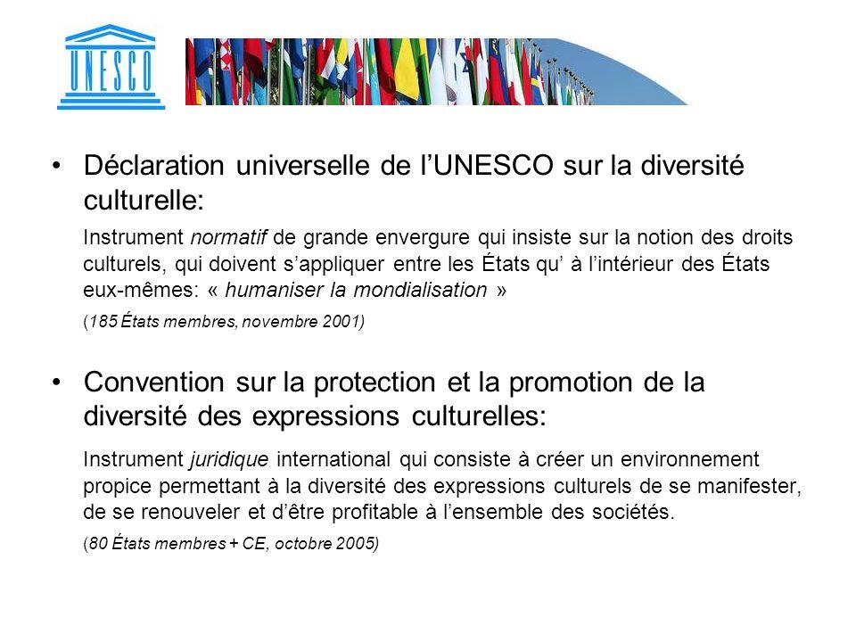 Déclaration universelle de l'UNESCO sur la diversité culturelle: