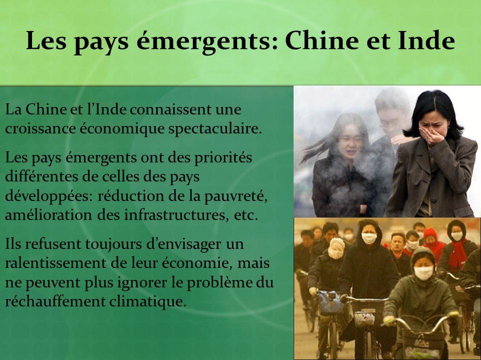 Les pays émergents: Chine et Inde