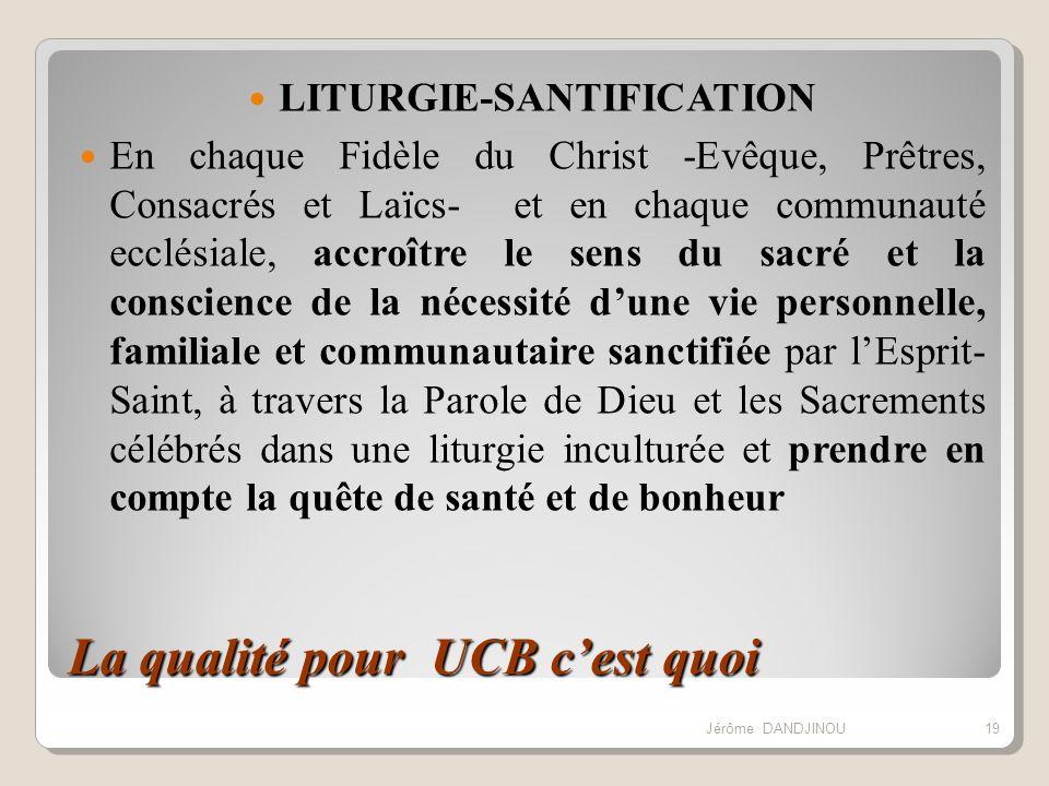 LITURGIE-SANTIFICATION