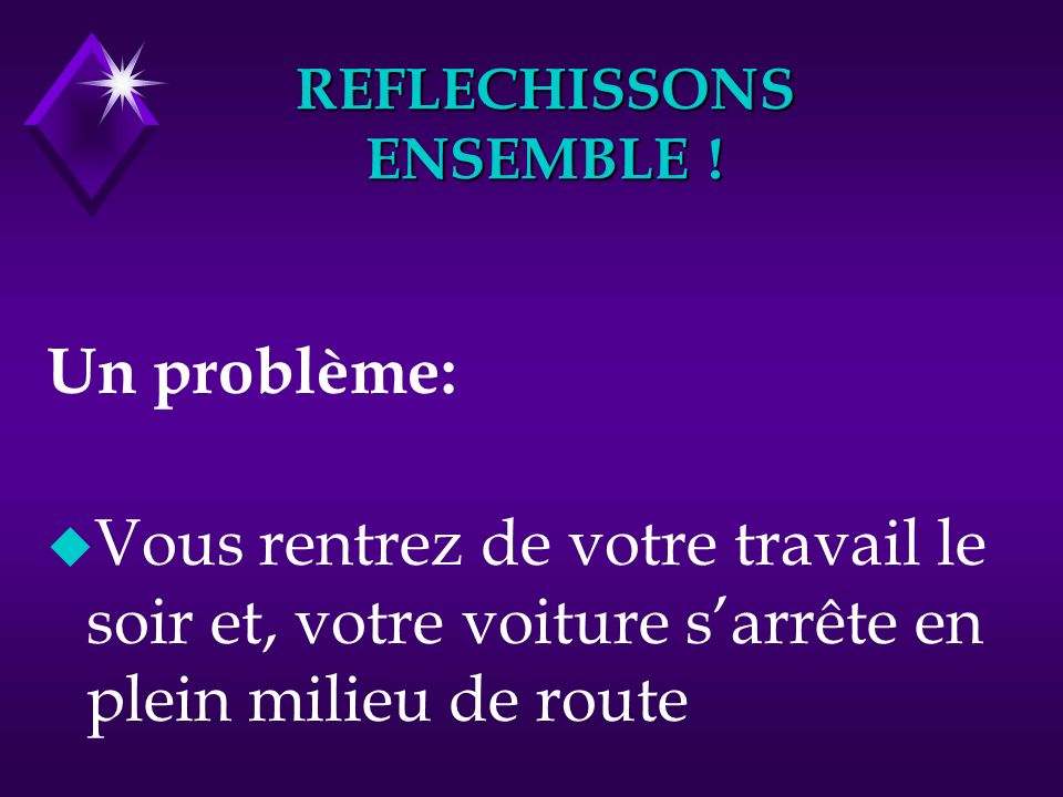REFLECHISSONS ENSEMBLE !