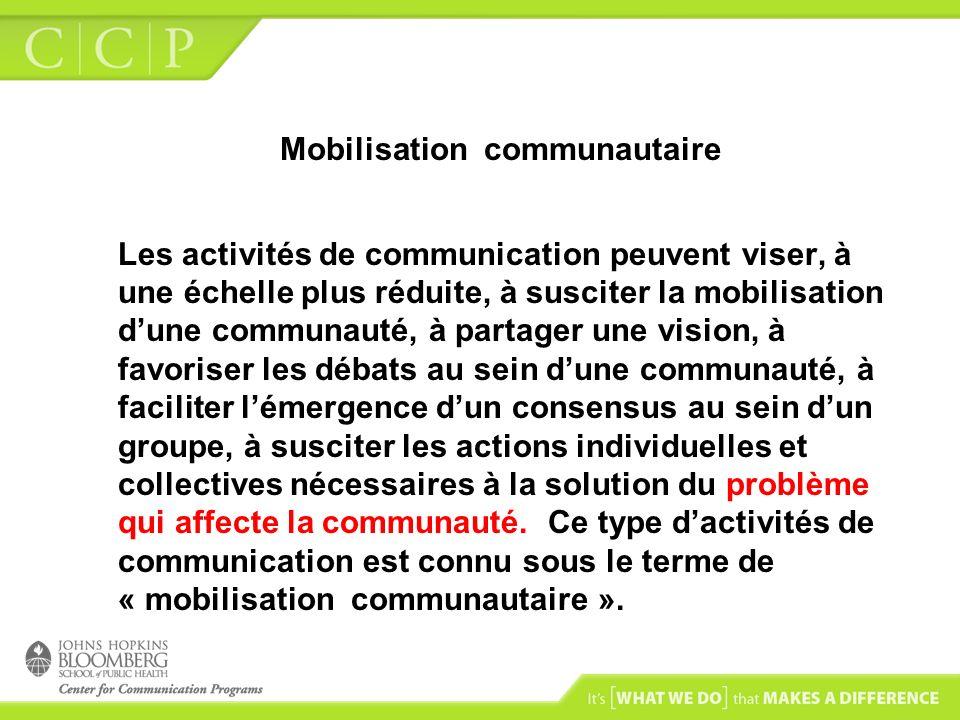Mobilisation communautaire