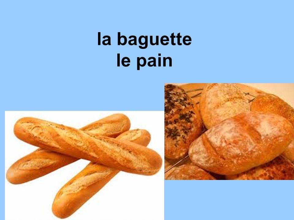 la baguette le pain
