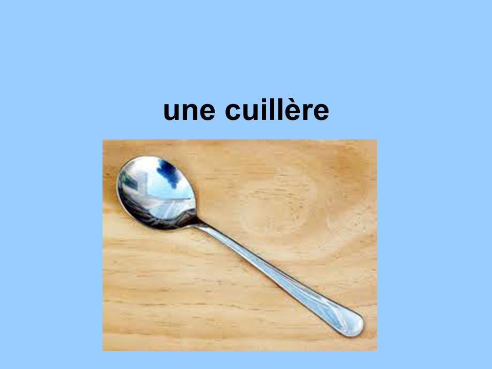 une cuillère