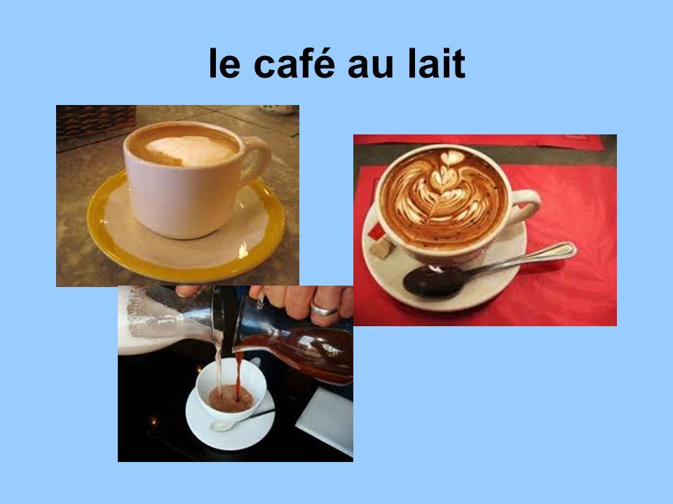 le café au lait