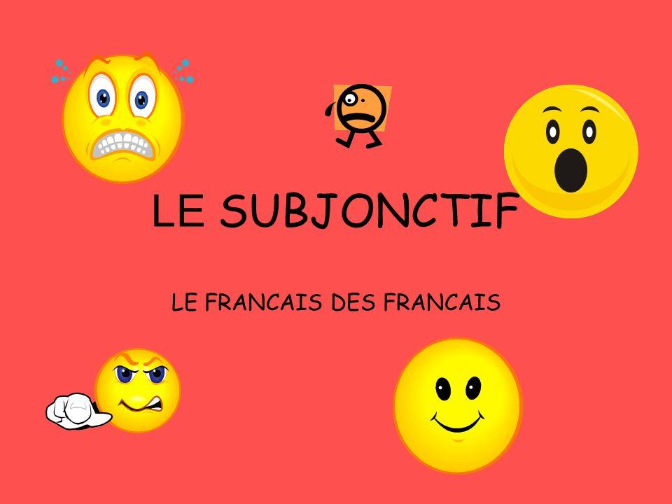 LE FRANCAIS DES FRANCAIS