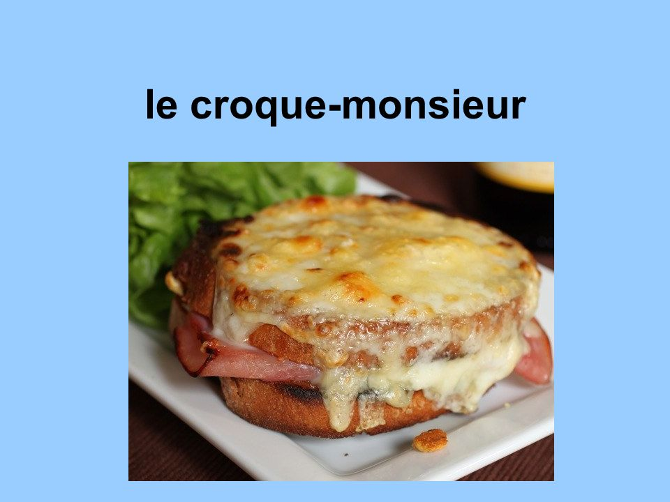 le croque-monsieur