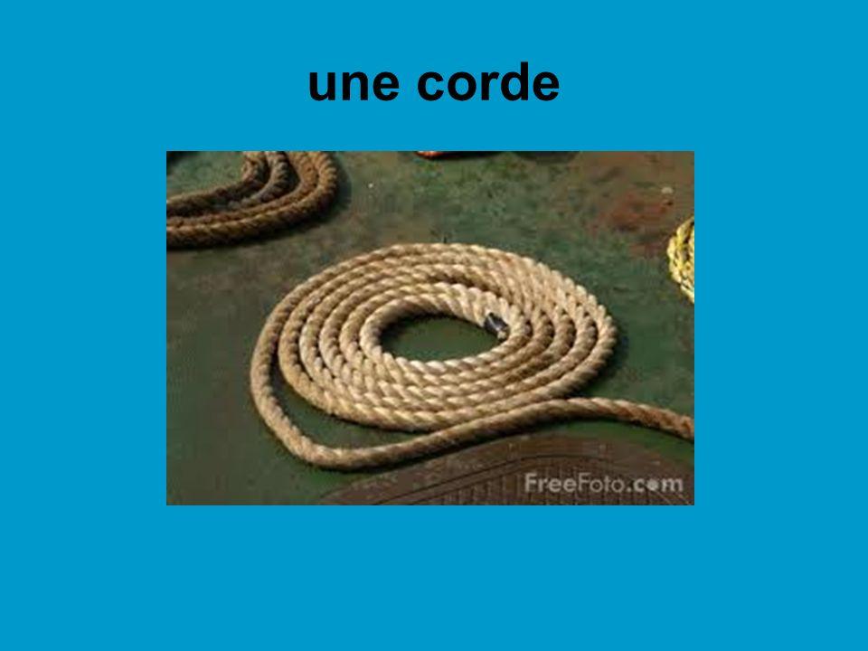 une corde