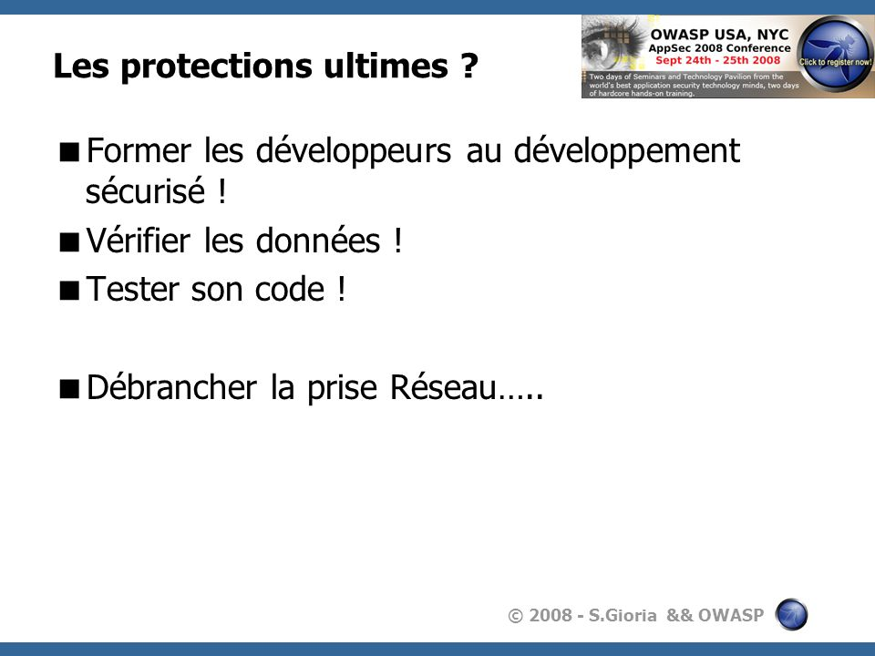 Les protections ultimes