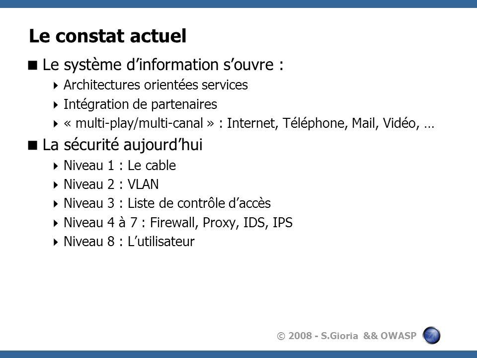 Le constat actuel Le système d'information s'ouvre :