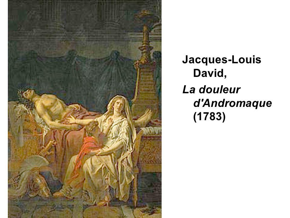 La douleur d Andromaque(1783)