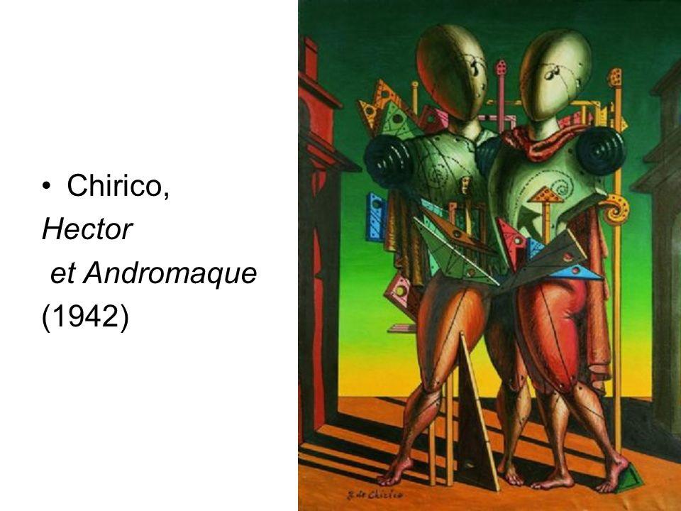 Chirico, Hector et Andromaque (1942) D.Augé