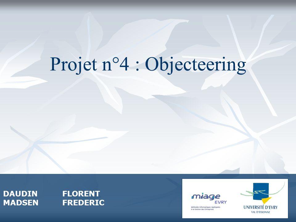 Projet n°4 : Objecteering