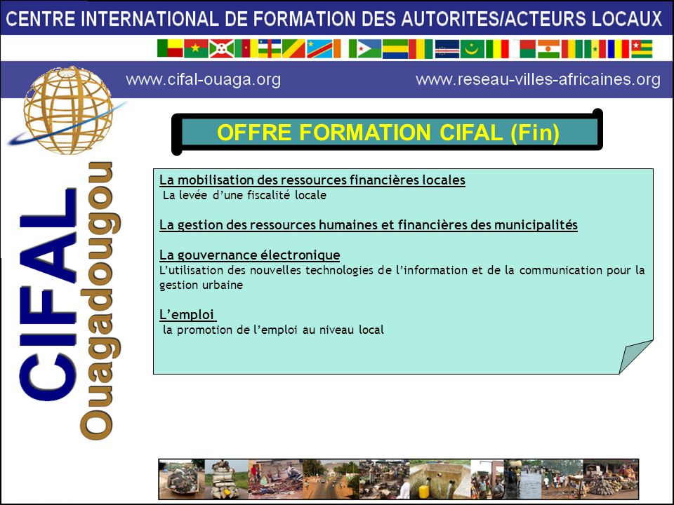 OFFRE FORMATION CIFAL (Fin)