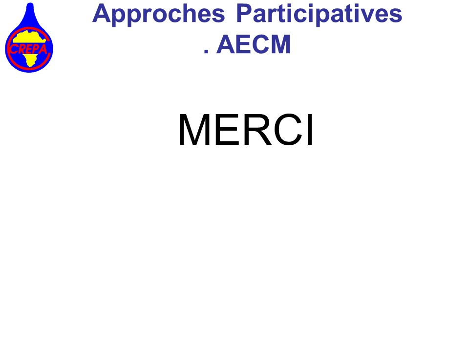 Approches Participatives