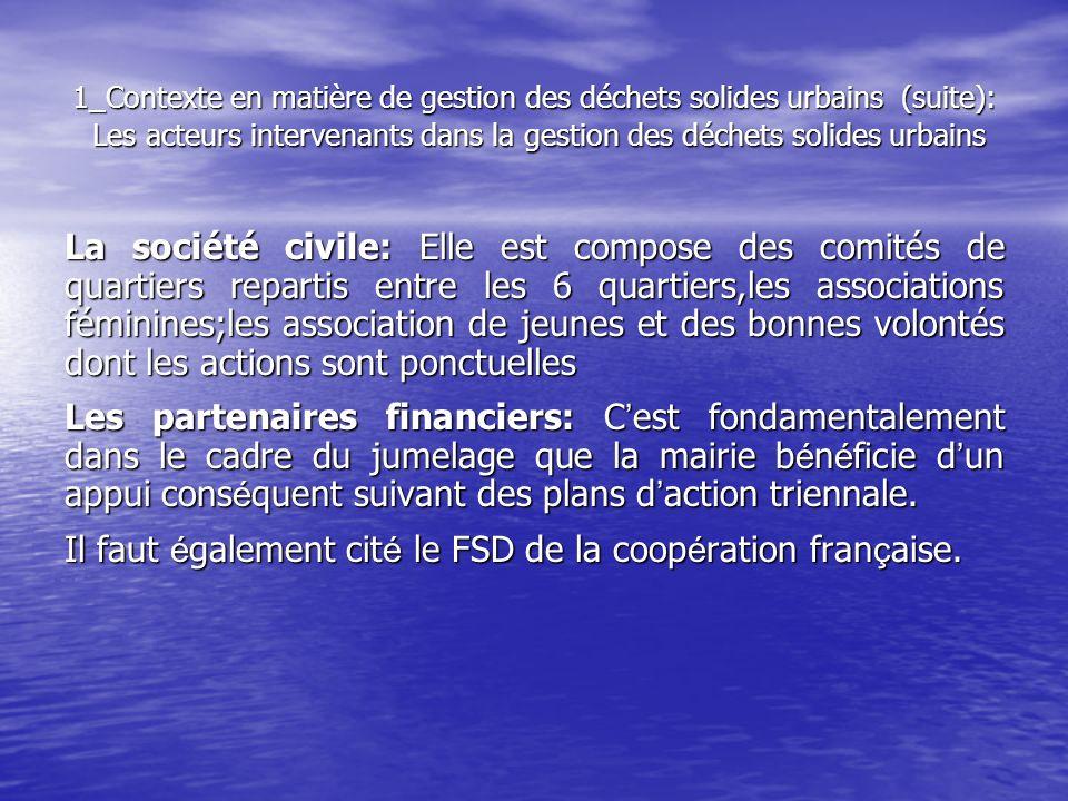Il faut également cité le FSD de la coopération française.