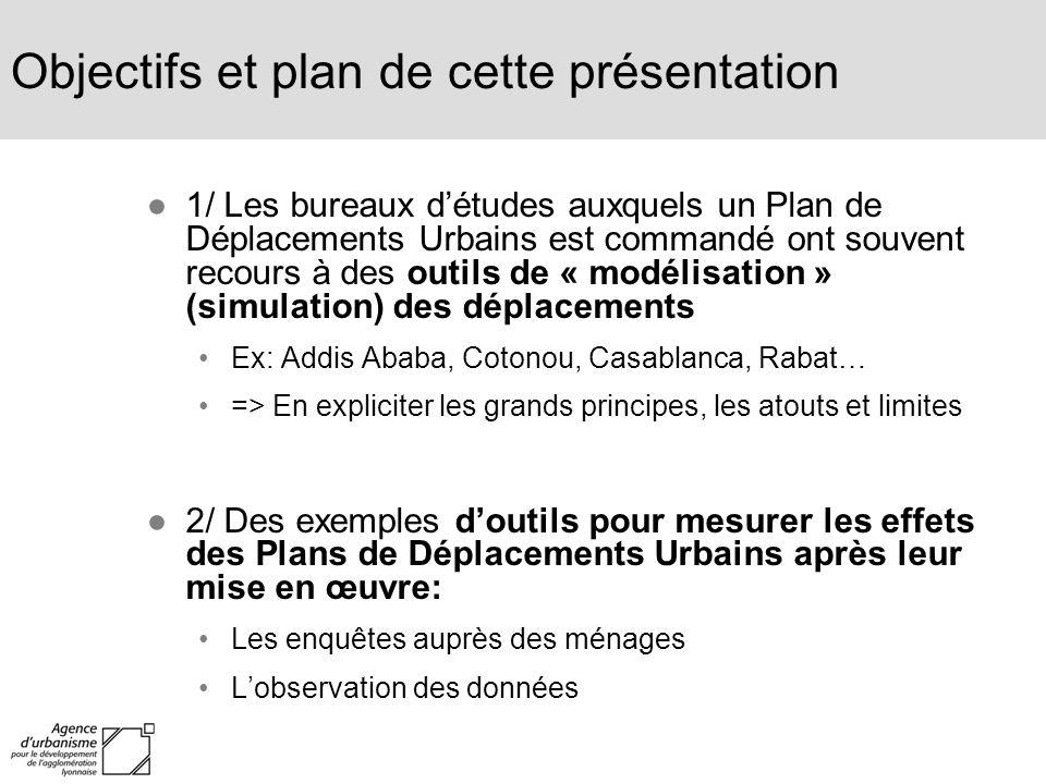 Objectifs et plan de cette présentation
