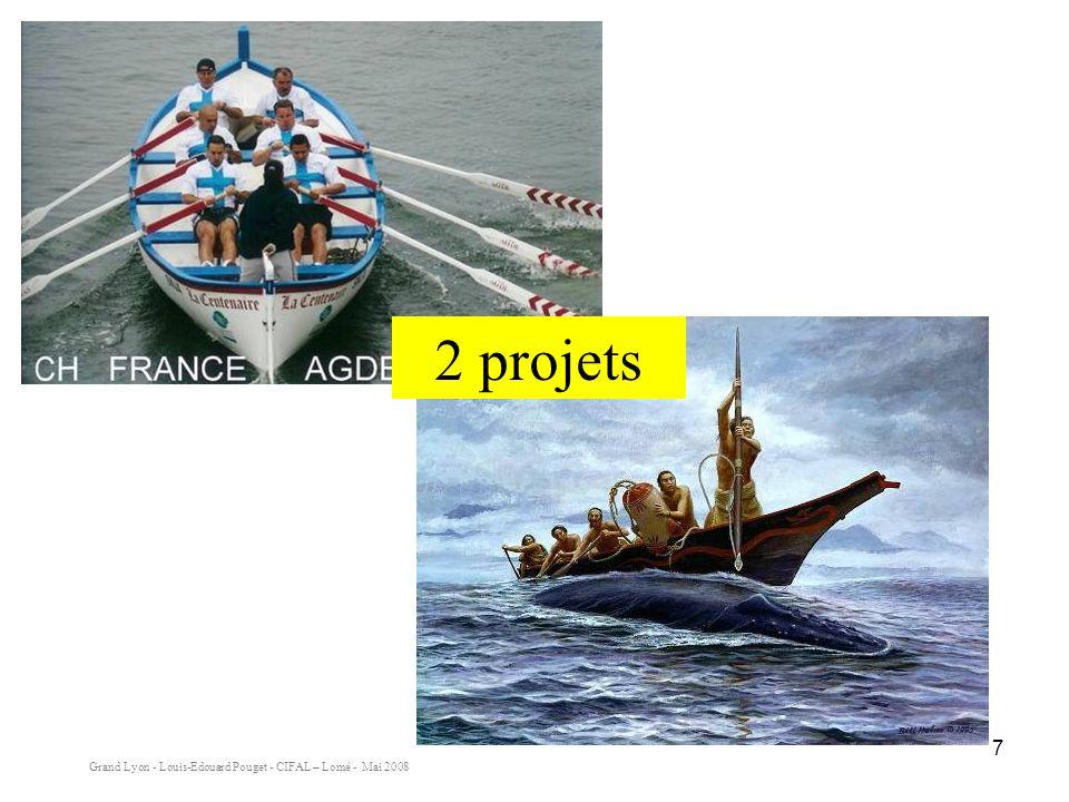 2 projets Deux projets différents et pourtant les même exigences en terme de communication. Dans chaque équipage il a fallu :