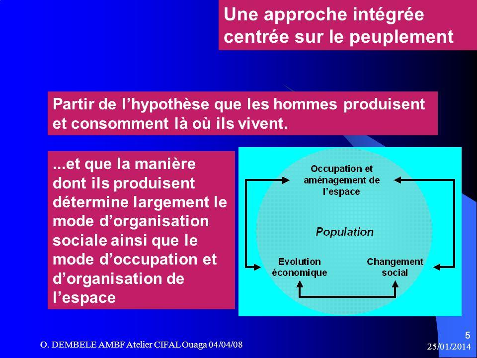 Une approche intégrée centrée sur le peuplement