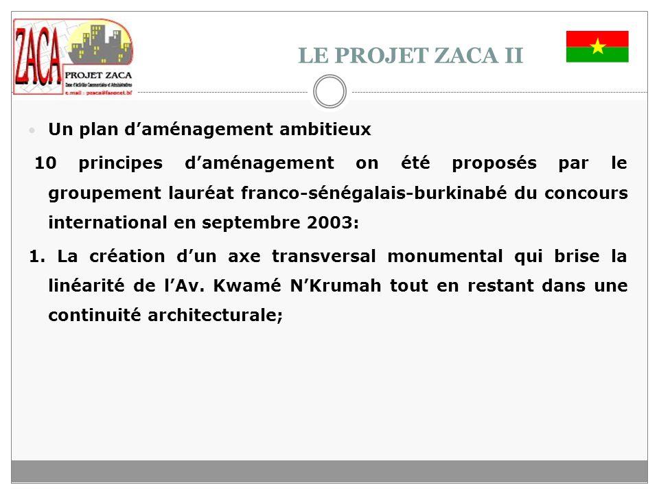 LE PROJET ZACA II Un plan d'aménagement ambitieux