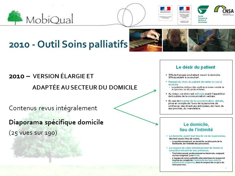 2010 - Outil Soins palliatifs