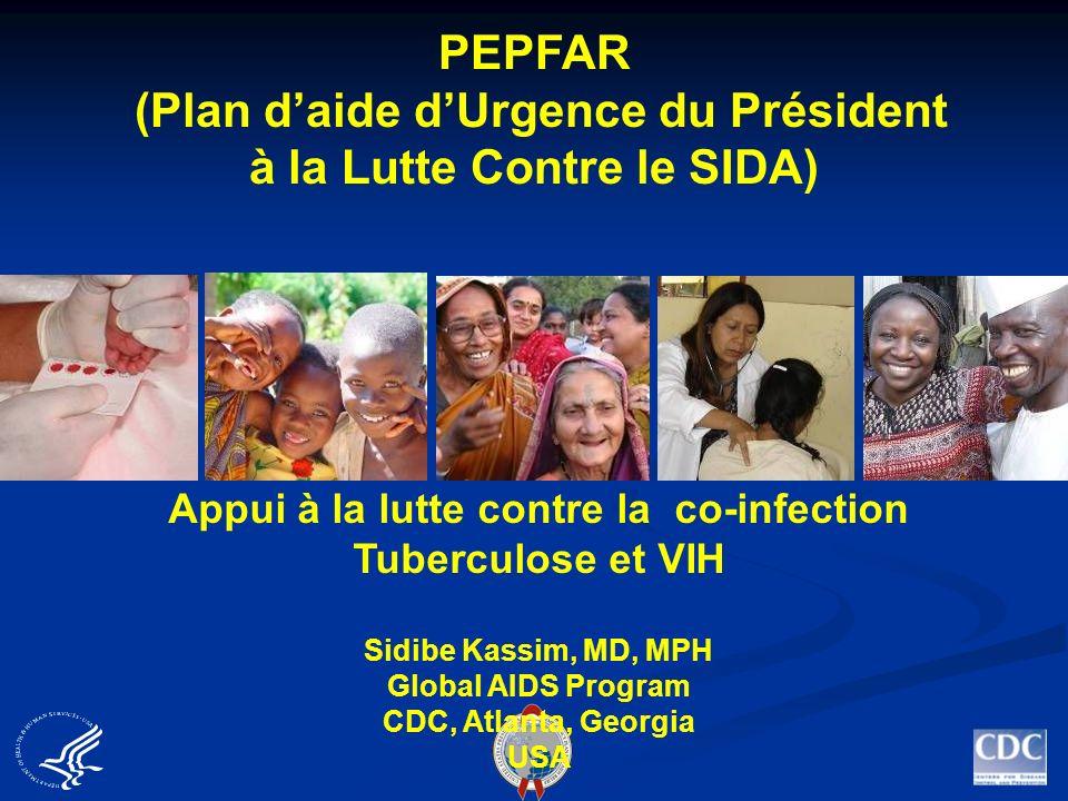 PEPFAR (Plan d'aide d'Urgence du Président à la Lutte Contre le SIDA)