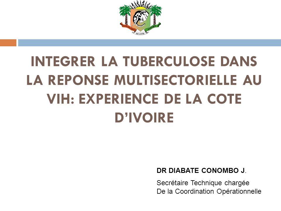 INTEGRER LA TUBERCULOSE DANS LA REPONSE MULTISECTORIELLE AU VIH: EXPERIENCE DE LA COTE D'IVOIRE