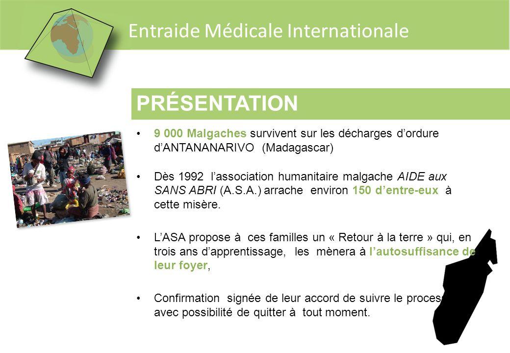 PRÉSENTATION 9 000 Malgaches survivent sur les décharges d'ordure d'ANTANANARIVO (Madagascar)
