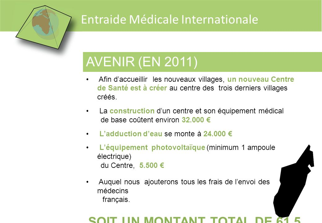 SOIT UN MONTANT TOTAL DE 61,5 K€