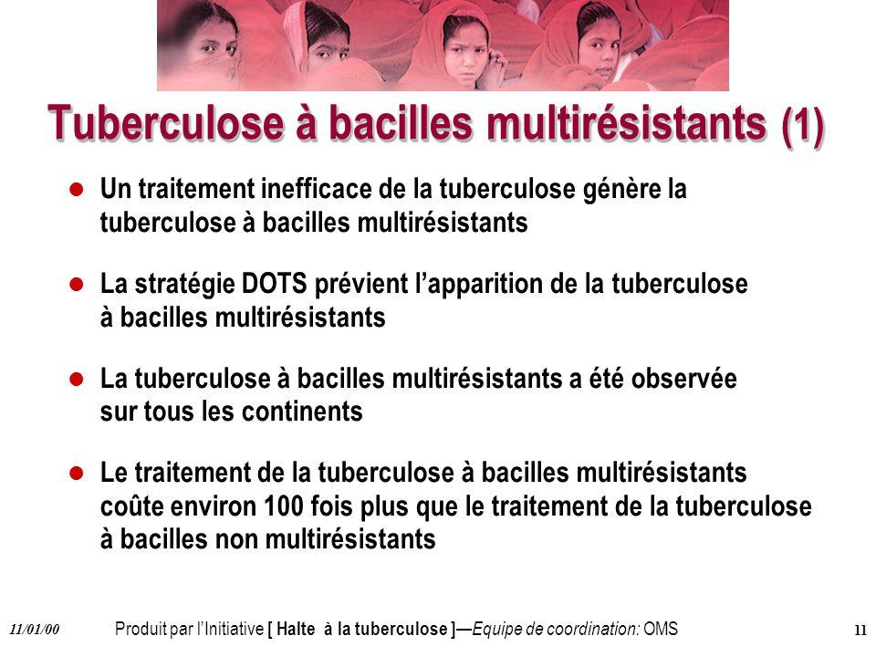 Tuberculose à bacilles multirésistants (1)