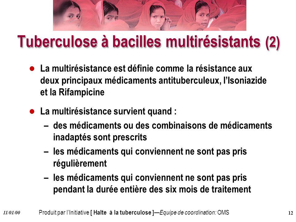 Tuberculose à bacilles multirésistants (2)