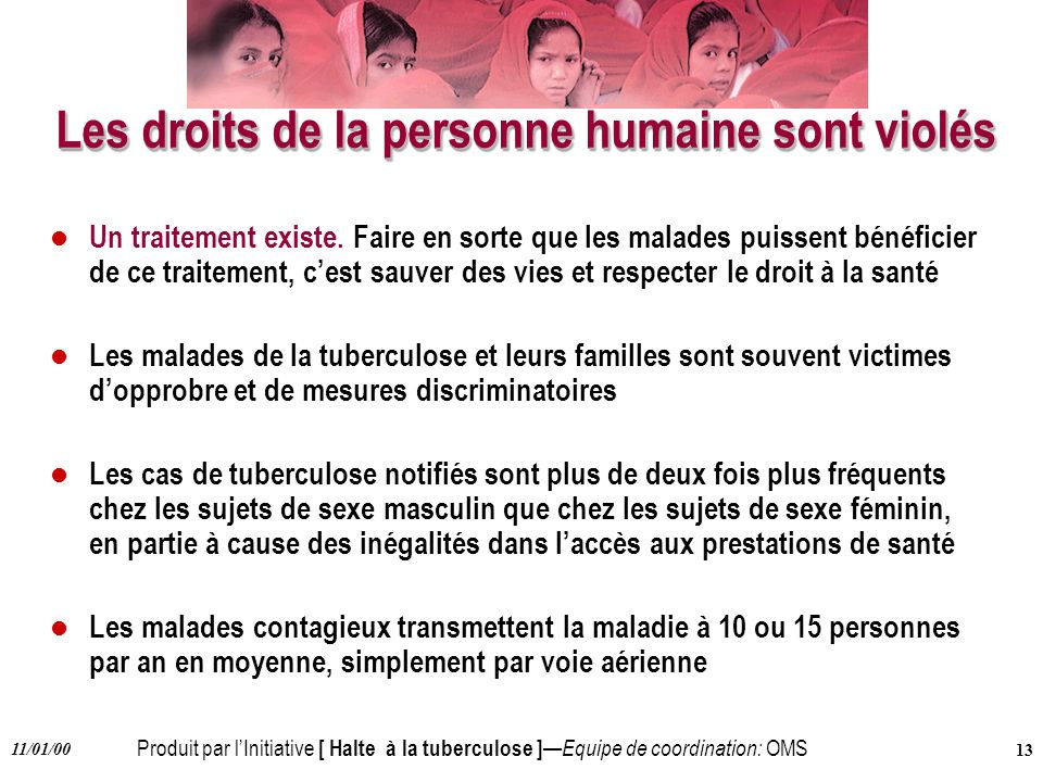 Les droits de la personne humaine sont violés