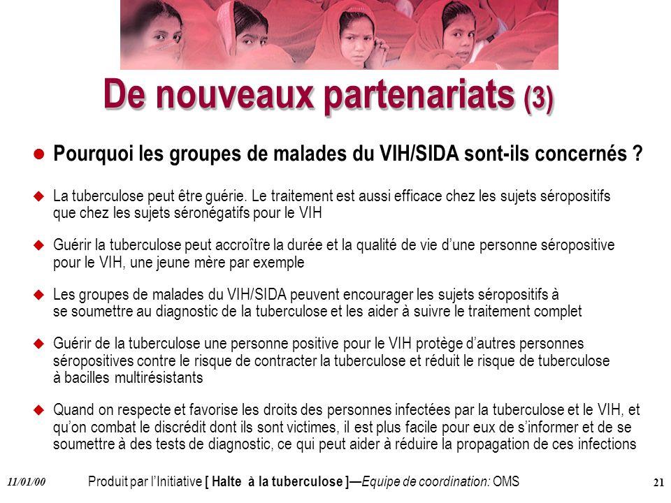 De nouveaux partenariats (3)