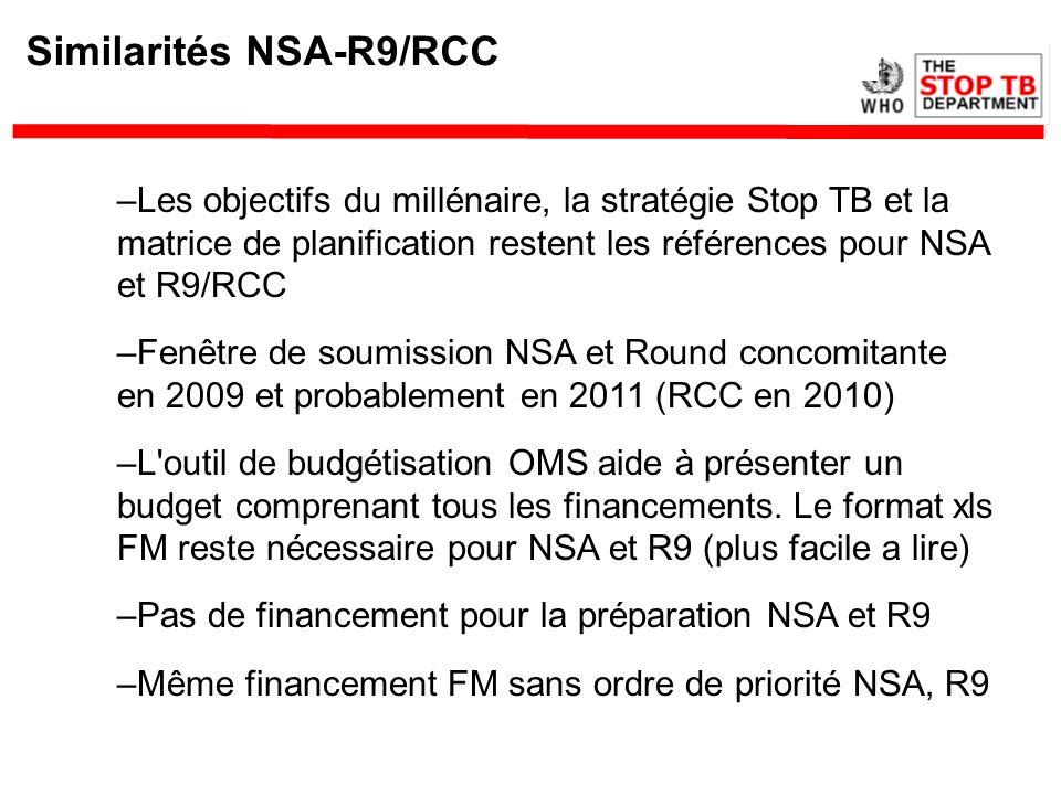 Similarités NSA-R9/RCC