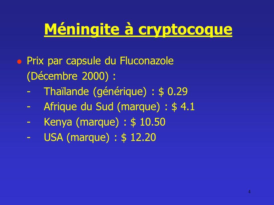 Méningite à cryptocoque