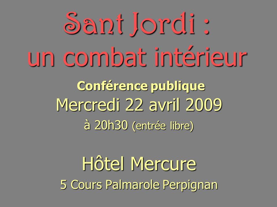 Sant Jordi : un combat intérieur