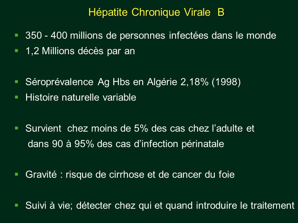 Hépatite Chronique Virale B