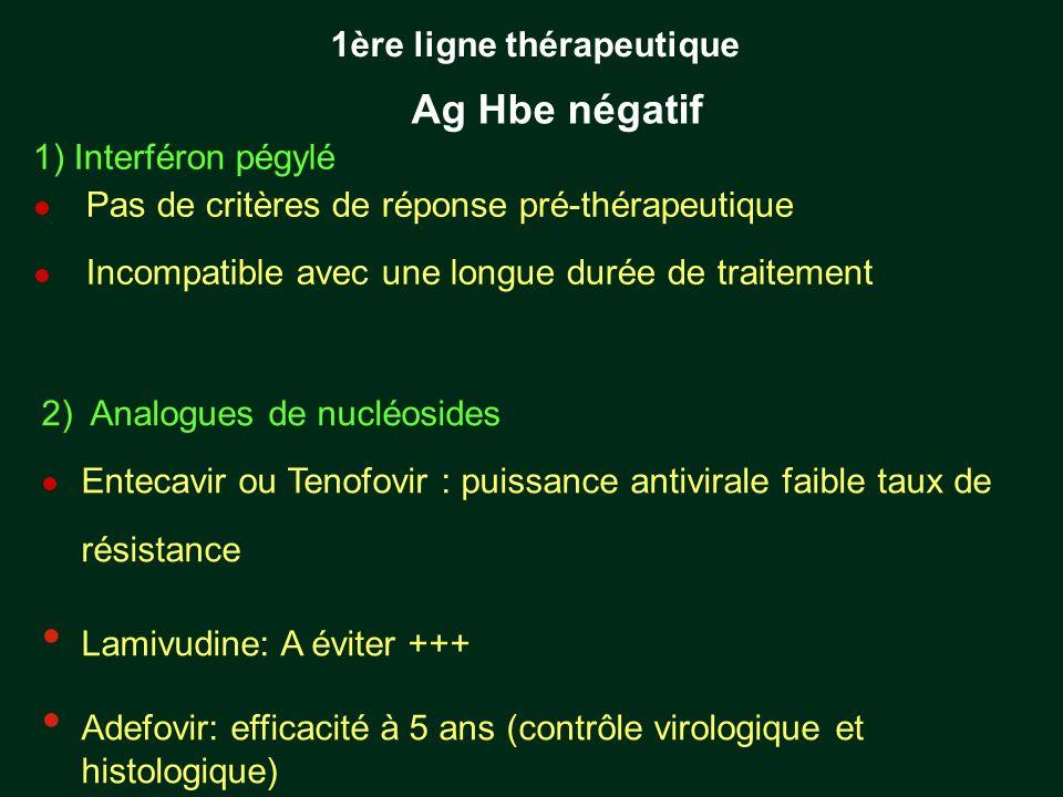1ère ligne thérapeutique