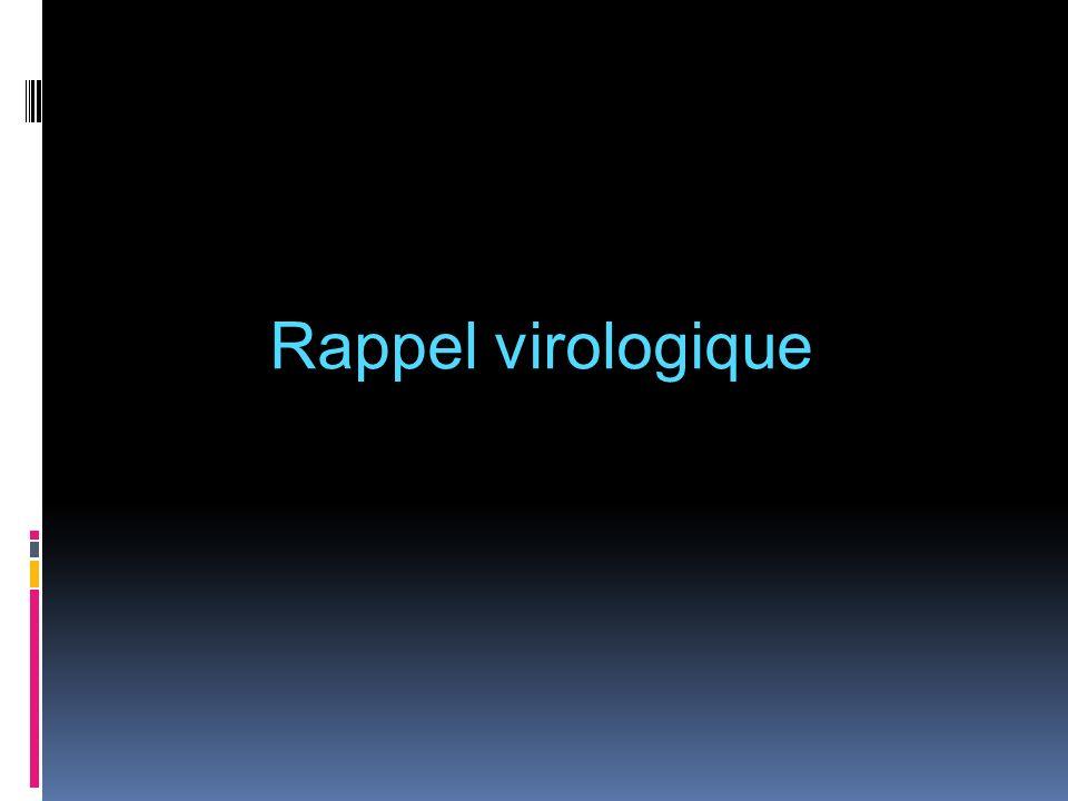Rappel virologique