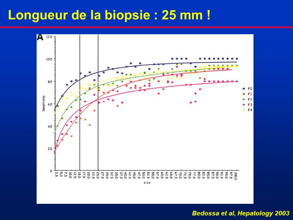 Longueur de la biopsie : 25 mm !