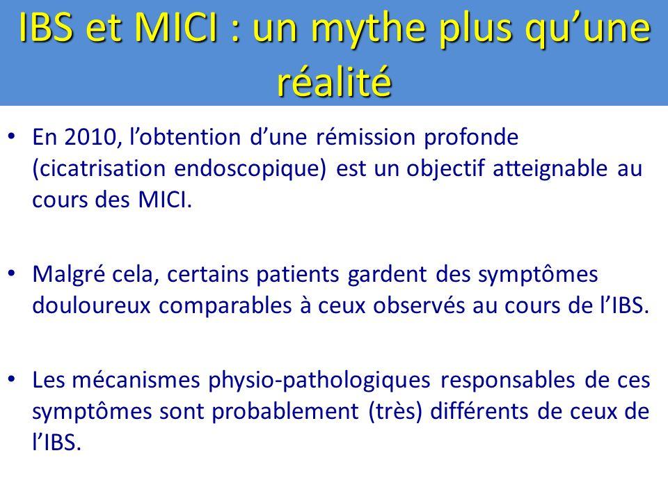 IBS et MICI : un mythe plus qu'une réalité