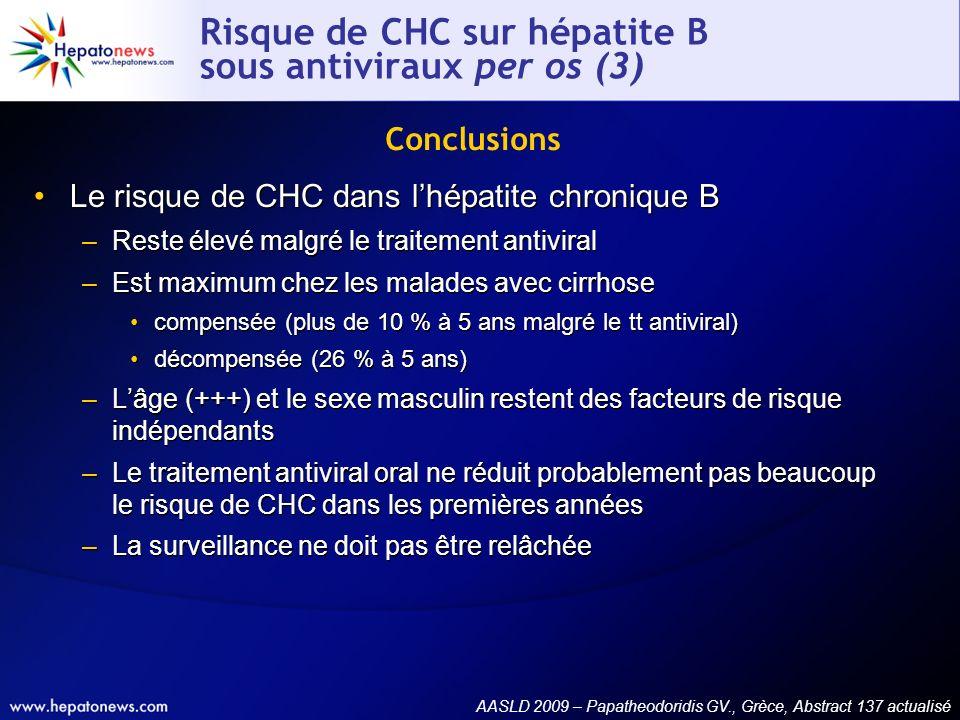 Risque de CHC sur hépatite B sous antiviraux per os (3)