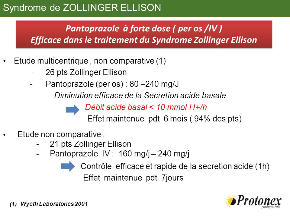 Syndrome de ZOLLINGER ELLISON