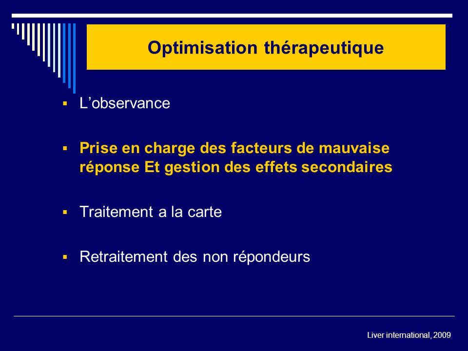 Optimisation thérapeutique