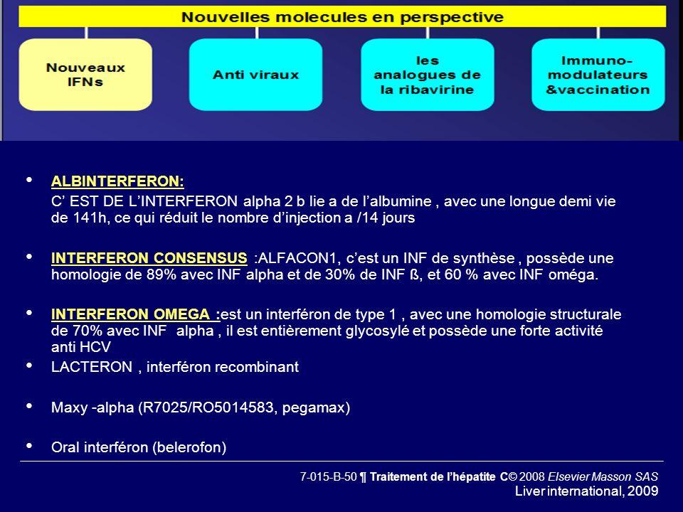 LACTERON , interféron recombinant