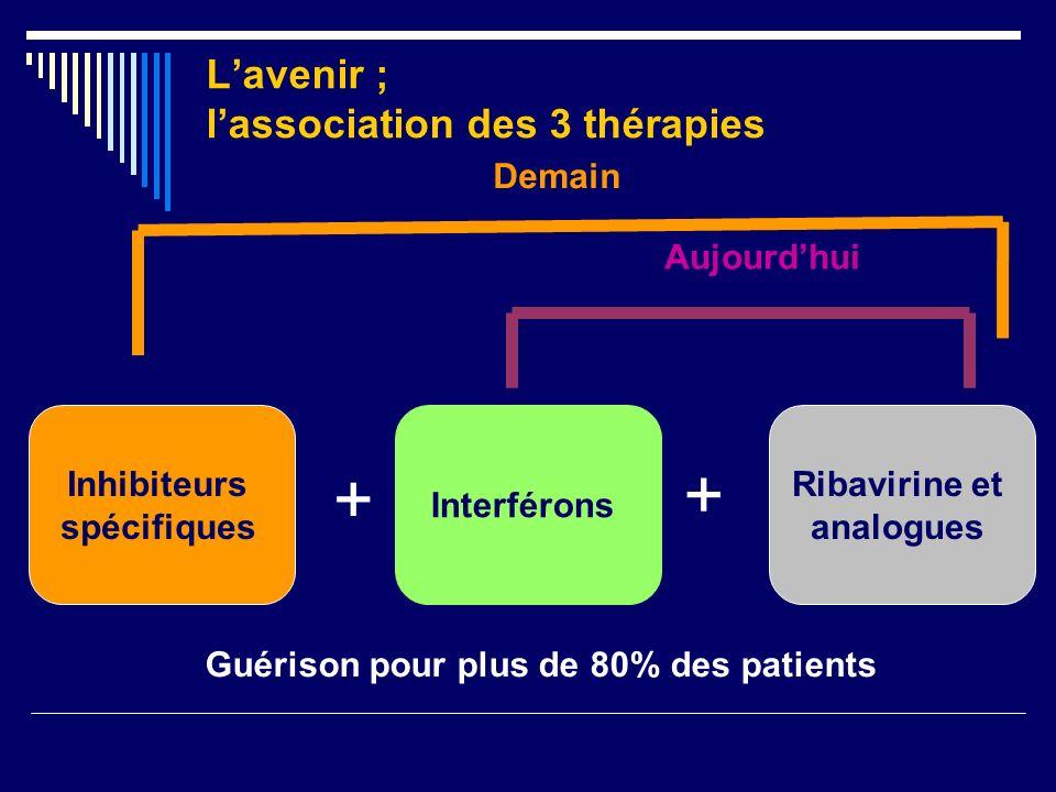L'avenir ; l'association des 3 thérapies